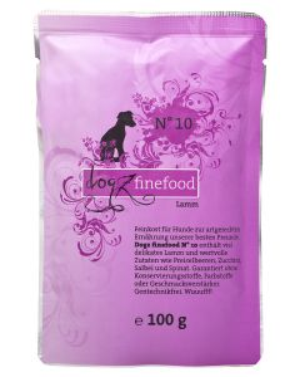 Dogz finefood N°10 Lamm 100 g