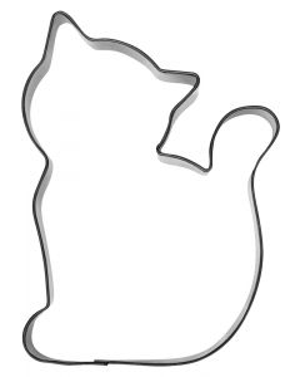 Ausstechform Katze 7 x 9.5cm