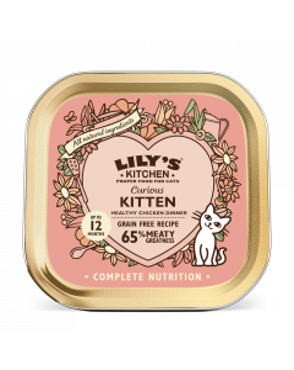 Lily's Kitchen Nassfutter Katze 85 g Kitten, gesundes Huhn