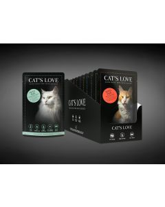Cats Love Multipack 12 x 85 g           Adultsorten je 2 x 85 g