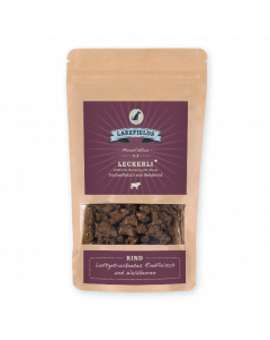 Lakefields Leckerli Trockenfleisch Rind 150 g