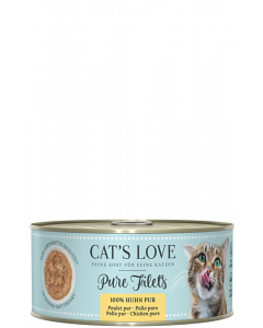 Cats Love FILET Pur Huhn 100 g