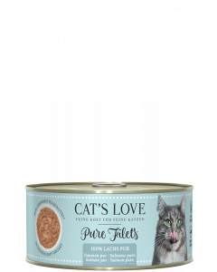 Cats Love FILET Pur Lachs 100 g