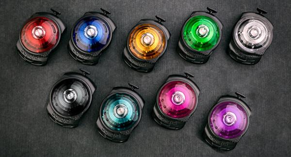 Orbiloc Dual Safety Light – welche Farbe passt zu mir?